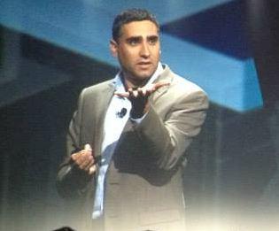 Martin Casado Launching NSX at VMworld 2013