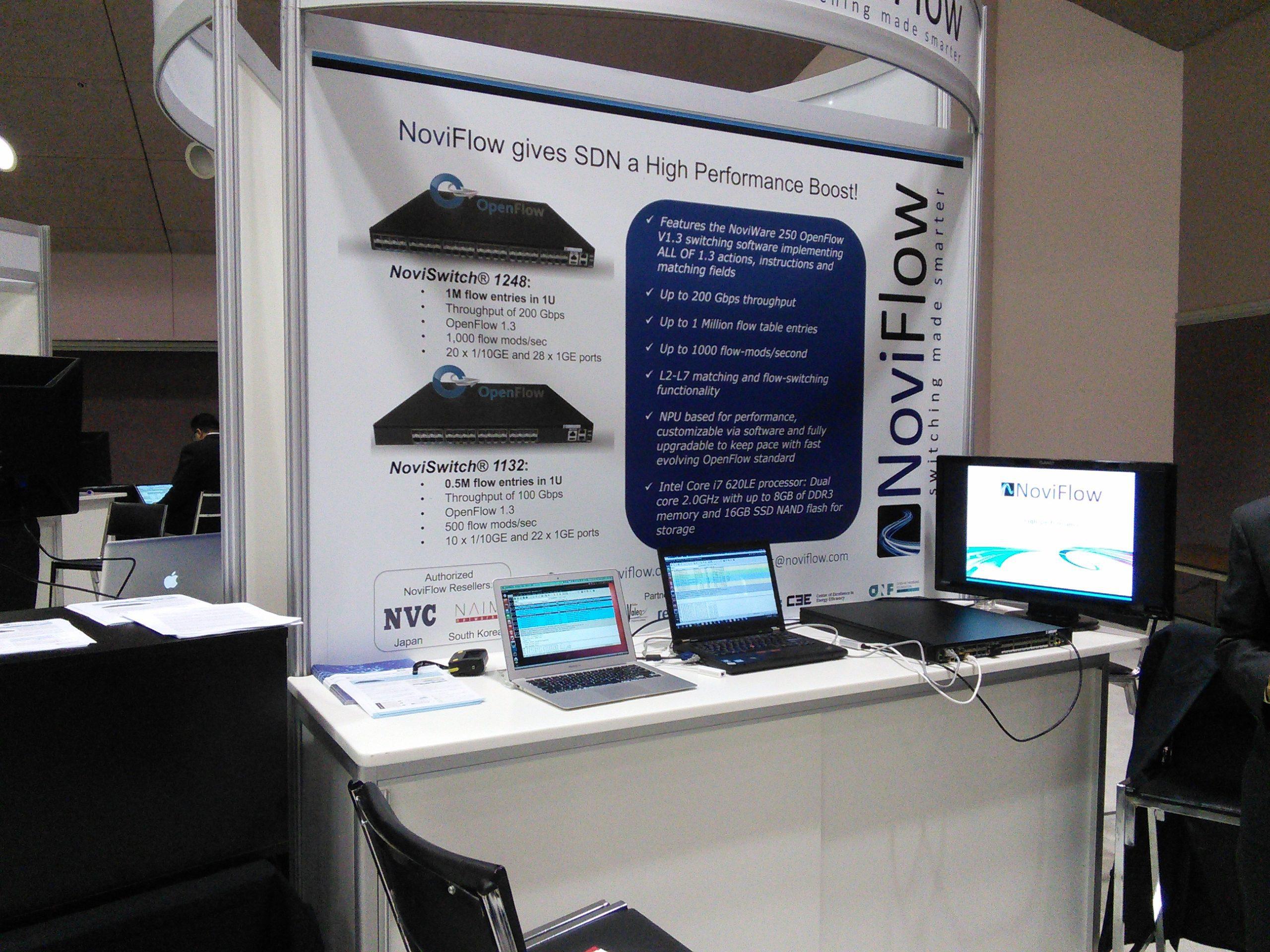 NoviFlow at ONS 2014