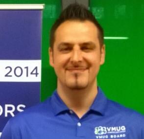 VMUG leader PJ Spagnolatti at VMworld 2014