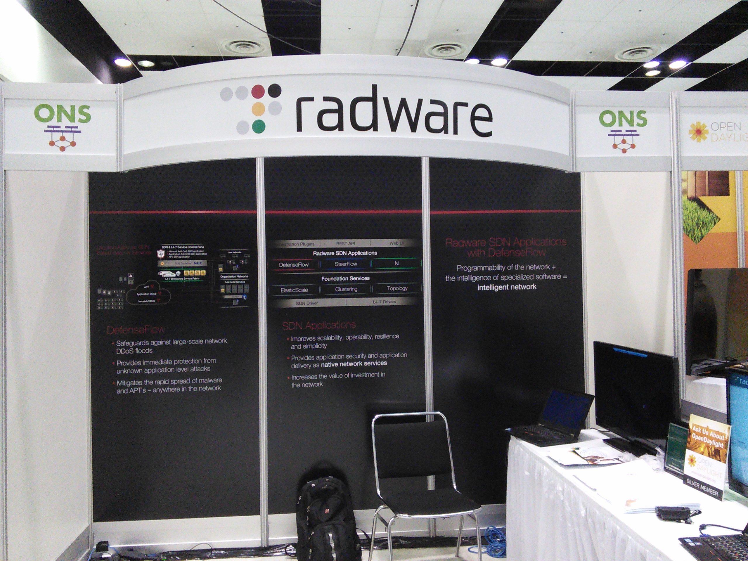 Radware at ONS 2014