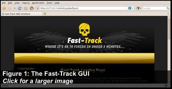 Figure 1: The Fast-Track GUI