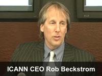 ICANN CEO Rob Beckstrom